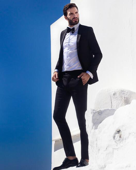 חליפת חתן שחורה קורליאני