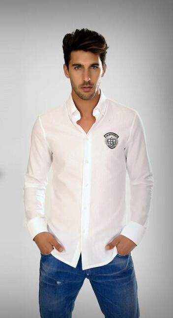 חולצת ביקמברג לבנה