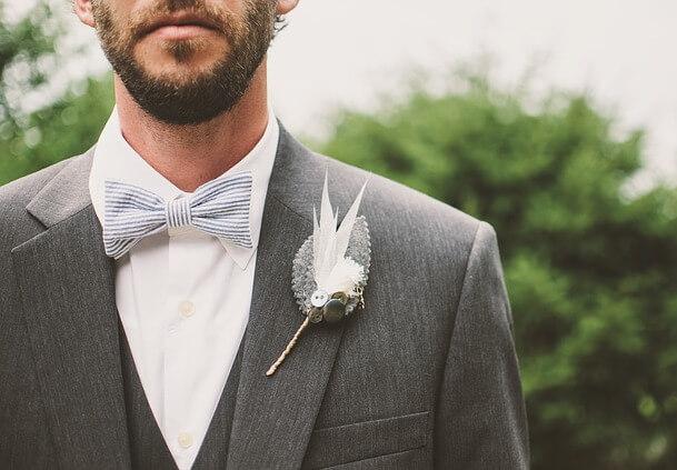 חליפה קלאסית לחתונה