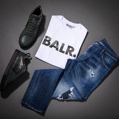 חולצת BALR לבנה