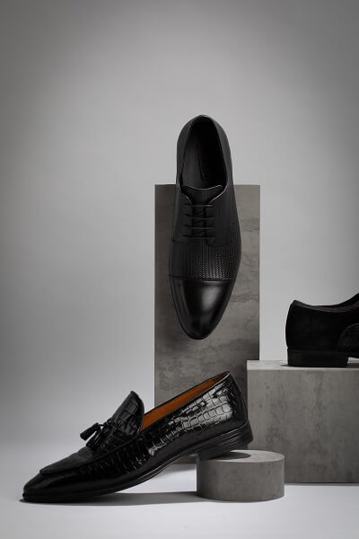 נעלי חתן שחורות