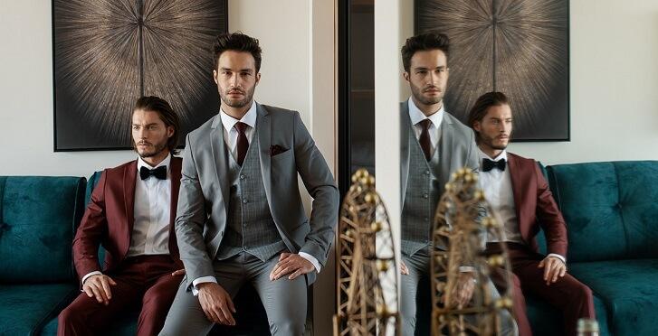 חליפות לגברים במגוון צבעים