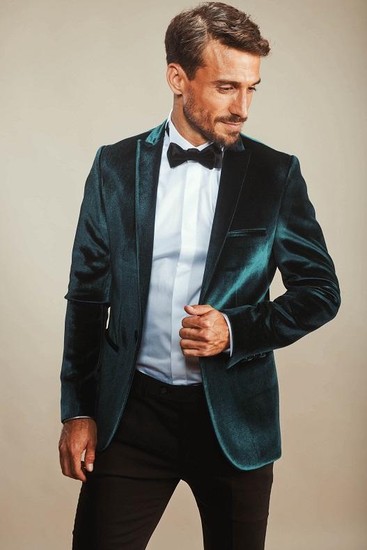 קולקציית חליפות חתן בגימור מבריק